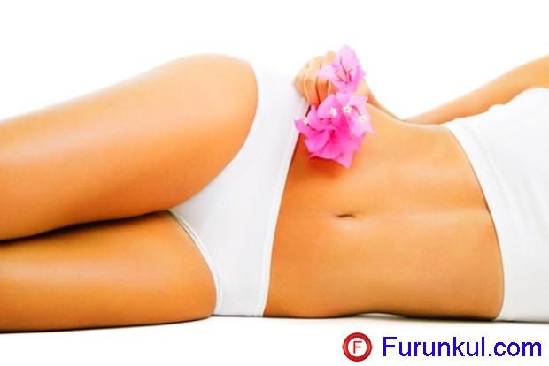 Как лечить фурункул на животе