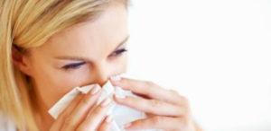 Снятие симптомов зуда на лице