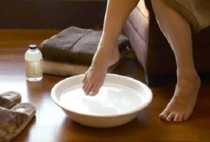 Инструкция по применению ванночки с содой для ног