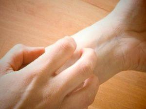 Лечение зуда на ладонях рук