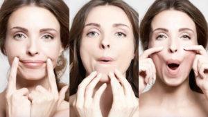 Как разгладить складки вокруг носа и губ на дому
