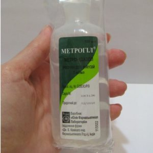 Правила применения Метрогила